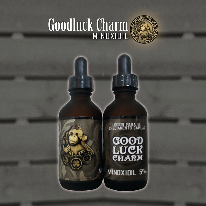 Minoxidil Goodluck Charm Locion de Crecimiento